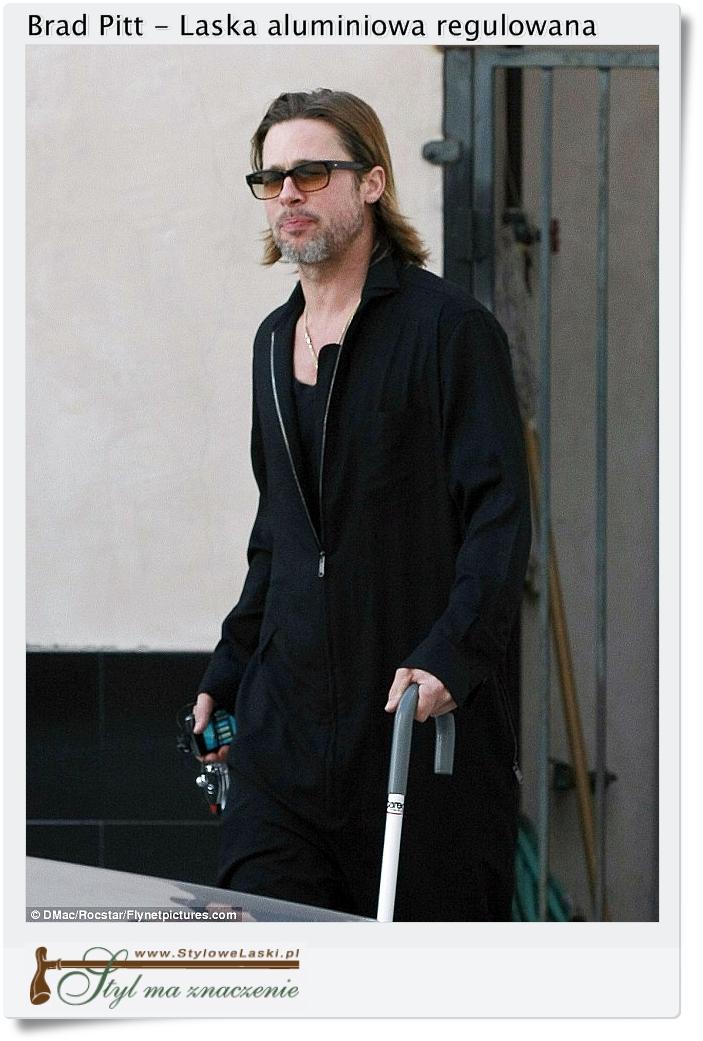 Brad Pitt i jego laska