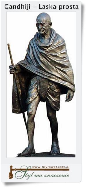Gandhiji i jego laska